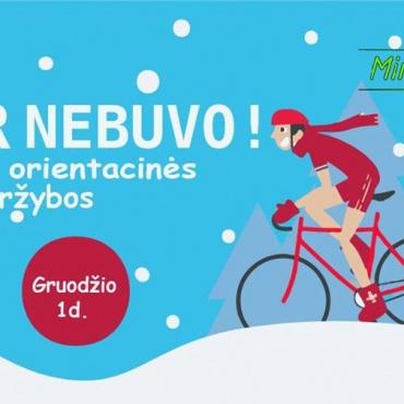 Žieminės orientacinės dviračiais | Minam kartu!