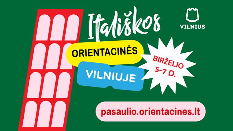 Nepaprastas itališkas nuotykis Vilniuje 2020 06 05