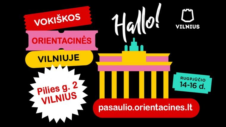Vokiškojo Vilniaus istorijos 2020 08 14-16